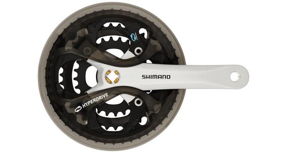 Shimano Acera FC-M361 Kurbelgarnitur 48/38/28 silber/schwarz
